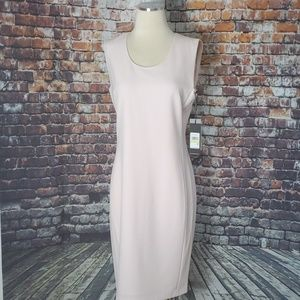 NWT Karl Lagerfield Sheath Pink Dress Size 4